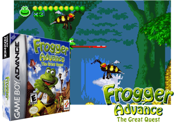 FROGGER ADVANCE : THE GREAT QUEST [EUROPE]