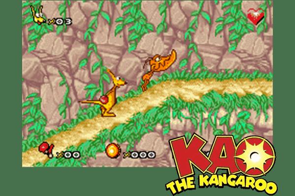 KAO THE KANGAROO [EUROPE] - (Game Boy Advance
