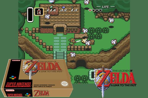The Legend Of Zelda A Link To The Past Snes – Fondos de Pantalla