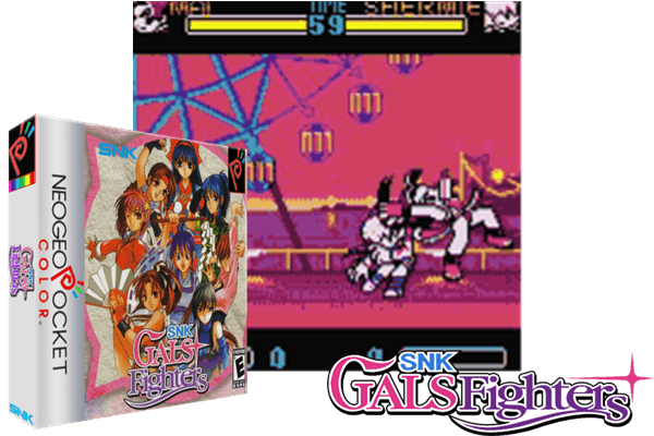 snk gals fighters