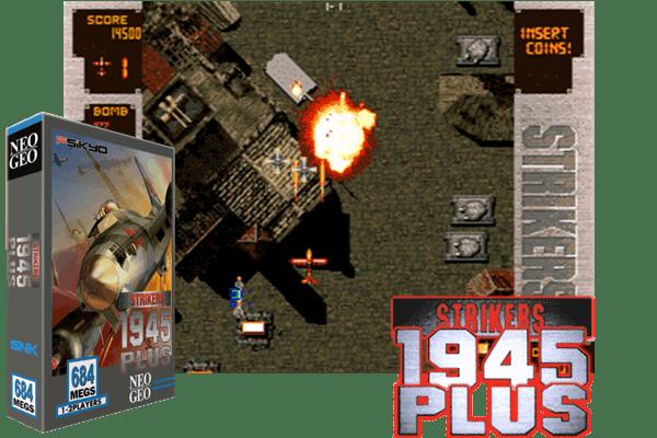 STRIKERS 1945 PLUS - (Neo-Geo) - BoutiqueDuGeek fr